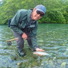 Campbell River Fly fishing trips